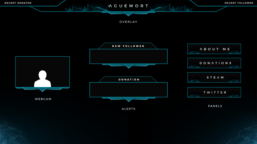 Happy clients streamplay graphics for Twitch overlay ideas