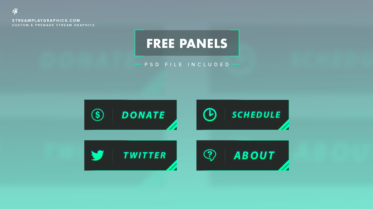 Summary -> Free Twitch Panels Des One Supportsmallstreamers