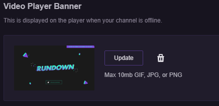 Twitch Image Sizes 2019 - Panels, Offline Banner - Streamplay Graphics