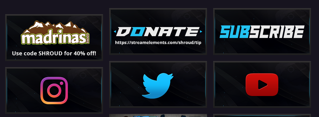 7 Best Twitch Panel Ideas to Help You Stand Out - Streamplay Graphics