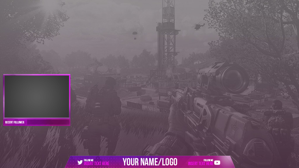 Basic Overlay - Streamplay Graphics