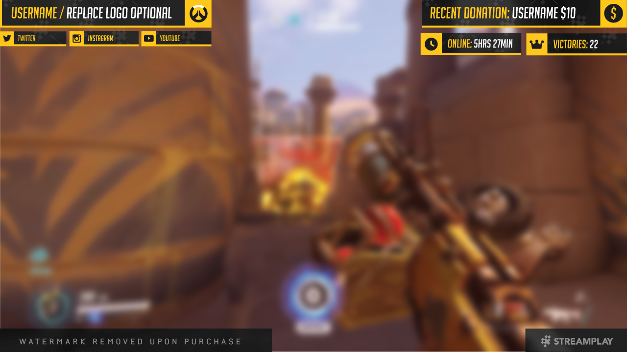 how to add overlay to twitch on ps4