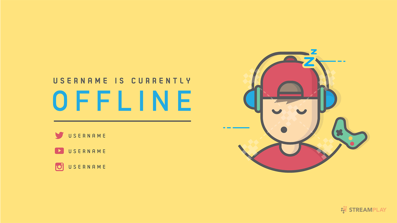 yellow-twitch-offline-banner