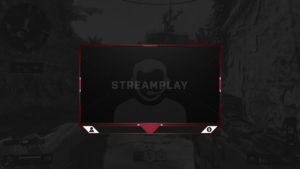 webcam overlay with new follower and donation sections
