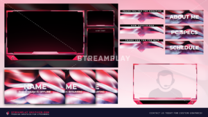 our shimmer stream overlay package
